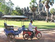 Tuk Tuk Around Angkor or Tuk Tuk In Siem Reap