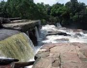 Khbal Chhay Waterfall & Victory Beach in Sihanouk Ville - Cambodia