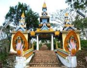 Tourist Attraction in Pailin Province, Cambodia