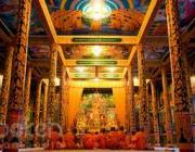 Wat Phnom Thon Mond attraction in Kandal Province